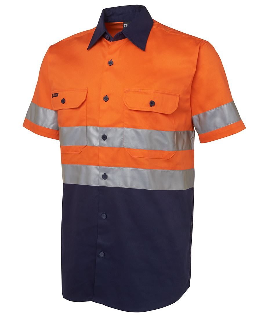 Hi vis s s d n 190g shirt for Hi vis t shirts cotton