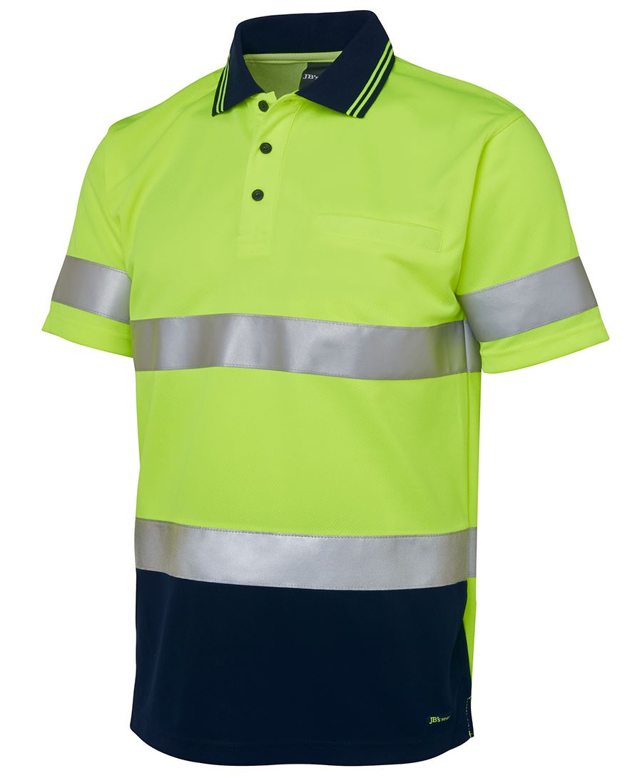 Hi vis s s d n traditional polo for Hi vis polo shirts with pocket