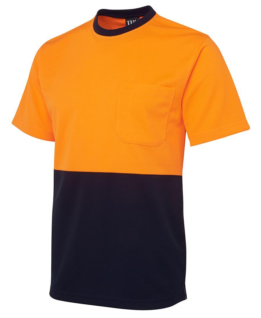 Hi vis traditonal t shirt for High visibility safety t shirts